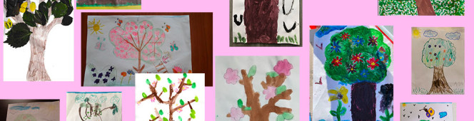"""Albero in Primavera"" – classe rosa"